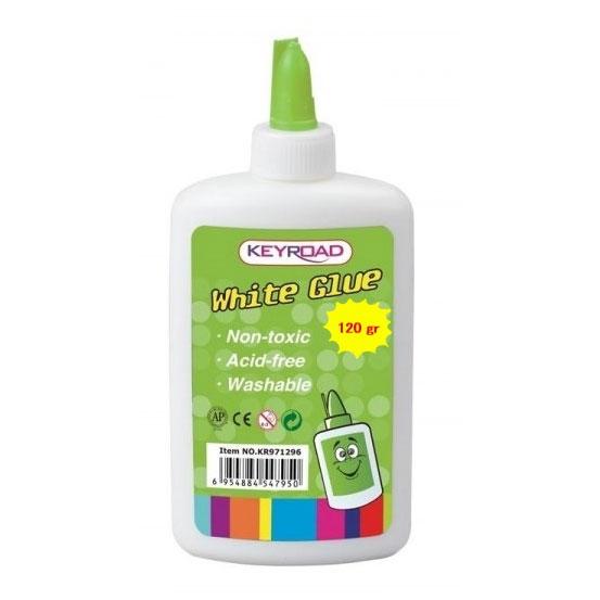 עדכון מעודכן דבק פלסטי לבן אומגה 120 גרם ZR-49