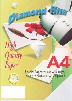 נייר קלף דיאמונד 168 גרם 50 יחידות A4