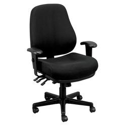 כסא משרד 24/7 אפור eurotech