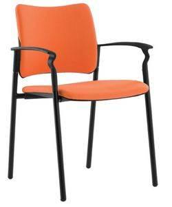 כסא אורח פינקו מרופד למשרד