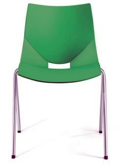 כסא אורח של פלסטי למשרד