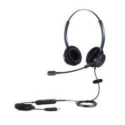 אוזניות בחיבור USB + מיקרופון MAIRDI MRD-809UCDB