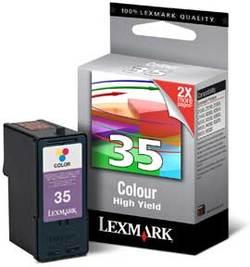ראש דיו לקסמרק 18C0035E צבע (35)