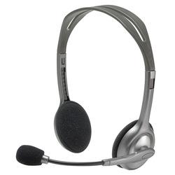 אוזניות חוטיות Logitech H110 לוגיטק