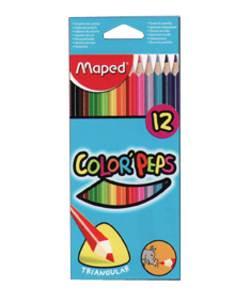 סט צבעי עפרון Maped