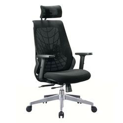 כסא מנהל עכביש רשת צבע שחור