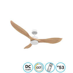 מאוורר תקרה 53' CCT DC דגם NORTHER VITA