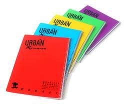 מחברת ספירל URBAN A4