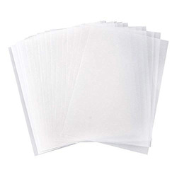 נייר שקוף לשרטוט 500 יח' 50/52 גר' גליון 100/70