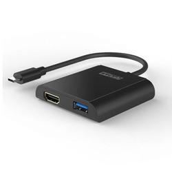 מפצל TYPE-C ל STLab HDMI + USB