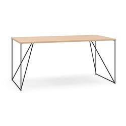 שולחן AIR 160/80 שחור פלטה (F) D2 Amber oak