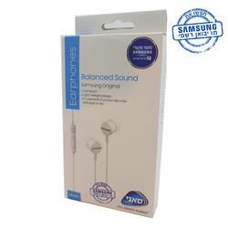 אוזניות SAMSUNG BALANCED SOUND לבן