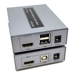 קופסת KVM HDMI Extender Over LAN