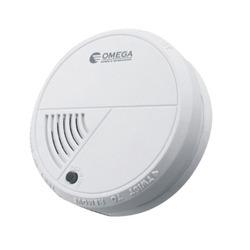 גלאי עשן + סוללות OMEGA OM-0300