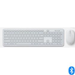 מקלדת ועכבר אלחוטיים MS Bluetooth Desktop QHG-00045 אפור