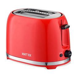 טוסטר מצנם ל- 2 יח' MX-T2002-R MATRIX ניו יורק אדום