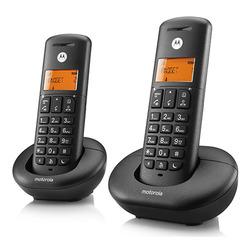 טלפון אלחוטי + שלוחה MOTOROLA E202