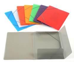 תיק מעטפה גומי A4 צבעוני CAMPUS