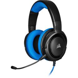 אוזניות גיימינג -CORSAIR HS35 STEREO כחול