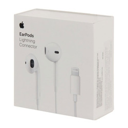 אוזניות מיקרופון Apple EarPods with Lightning Connector
