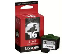 ראש דיו לקסמרק 10N0016E שחור (16)