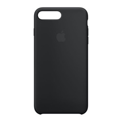 מגן כיסוי סיליקון iPhone 7 PLUS שחור