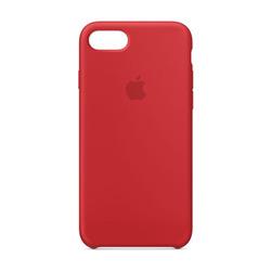 מגן כיסוי סיליקון iPhone 7 אדום