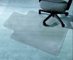 משטח פלסטי שקוף לשטיח DEFLECTO