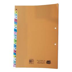 חוצצים קרטון הדר א-ב צבעוני 240 גרם