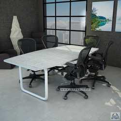 שולחן ישיבות עץ דגם רינג