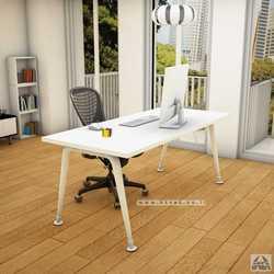שולחן מנהלים מעוצב דגם Keren רגל לבנה