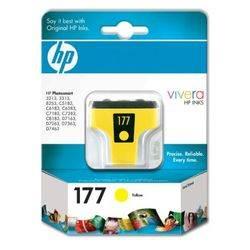 ראש דיו C8773H HP צהוב (177) 6 מ'ל