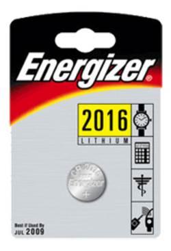 סוללת אנרגיזר CR-2016 כפתור