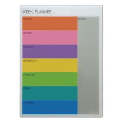 לוח זכוכית תכנון שבועי 60/80