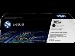 טונר לייזר HP CE410A שחור 2200 דף (305A)