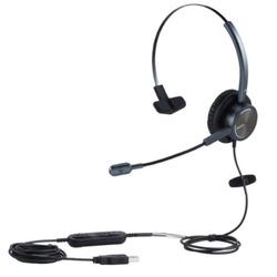 אוזניות בחיבור USB + מיקרופון MAIRDI MRD-809UC