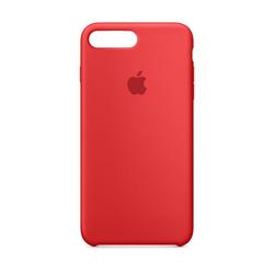 מגן כיסוי סיליקון iPhone 7 Plus אדום