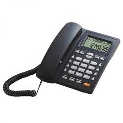 טלפון שולחני AS5412 uniden שחור