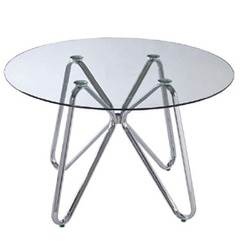 שולחן משרדי המתנה קריסטל גבוה