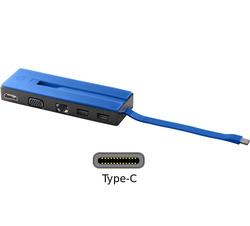 תחנת עגינה אוניברסלית HP USB-C Travel Dock