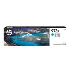 ראש דיו HP 973X מקורי כחול, 7000 דף