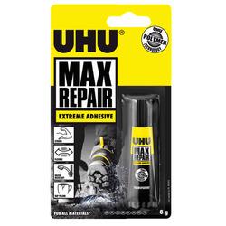 דבק סופר גלו 8 גרם UHU MAX REPAIR חזק במיוחד