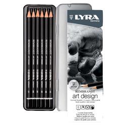 סט 6 עפרונות לשרטוט Rembrandt Art Design LYRA