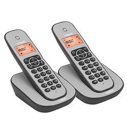 טלפון אלחוטי כפול VITECH CS1000TW שחור