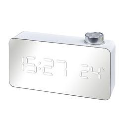 שעון שולחני דיגטלי לבן 4280