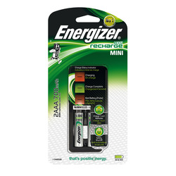 מטען סוללות  +2AAA סוללות energizer