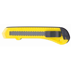 סכין חיתוך פלסטיק רחב + נועל