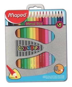 סט צבעי עפרון 18 יח' Maped אורטופדי