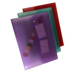 תיק הרמוניקה פלסטיק A4  1-12 כפתורי מתכת