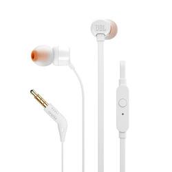 אוזניות חוטיות JBL T110 לבן